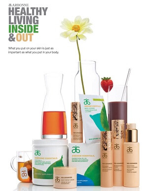 Spa Diamond Teams up with Arbonne