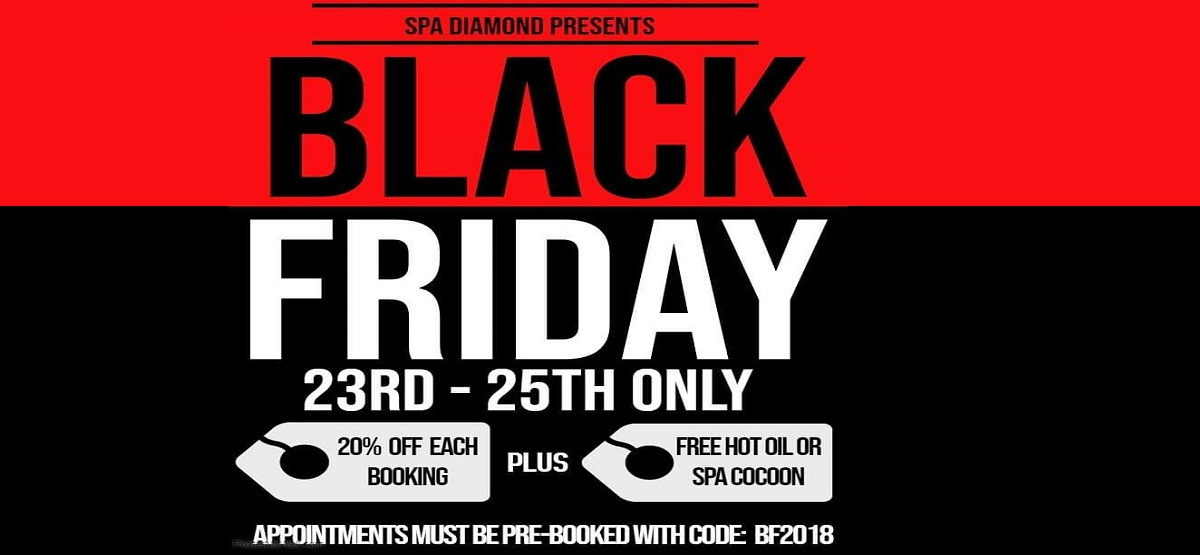 Black Friday sales at Spa Diamond