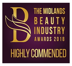 Highly Commended by the National Beauty Industry Awards